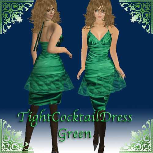 Tightcocktaildress_green