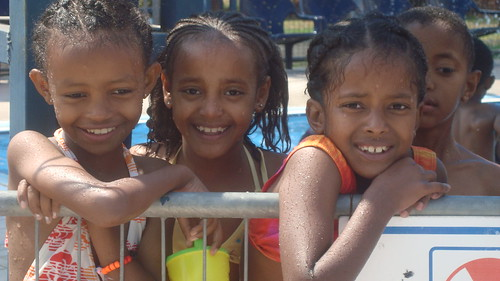 Ethiopian Immigrants Enjoying Summer Camps Activities