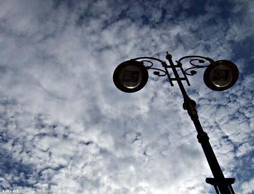 Sky & lamp