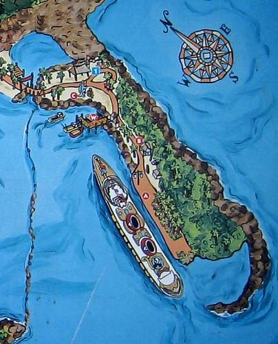 Castaway Cay Arrival Plaza