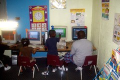 Classroom Computers In Use