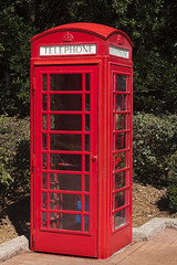 Classic Red Phone Booth (IceNineJon) Tags: amusementpark britain british bush disney england epcot greatbritain phonebooth telephone themepark travel tree trees uk unitedkingdom unitedkingdompavilion waltdisneyworld wdw worldshowcase lakebuenavista fl unitedstates