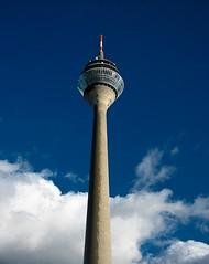 Rheinturm (Anastasia Guzhova) Tags: tower germany deutschland europe nrw dusseldorf nordrheinwestfalen rheinturm