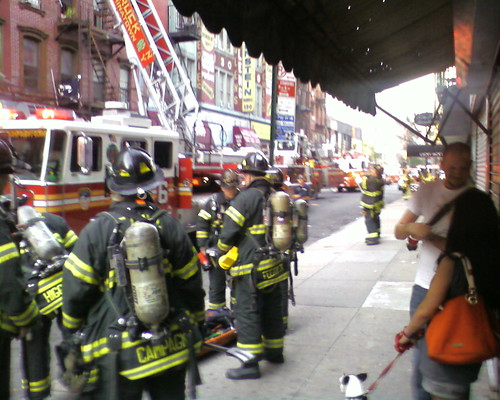 Fire at 134 Orchard Street