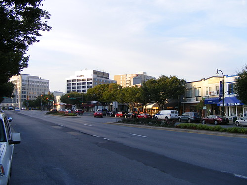 Georgia Avenue Just Before Sunset
