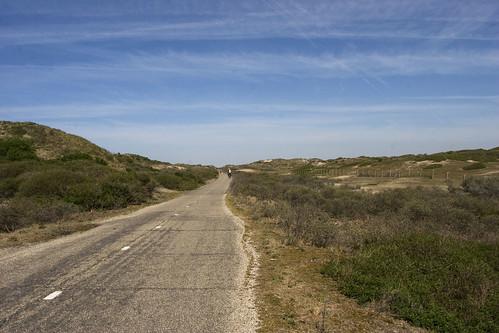 road in dunes