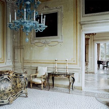 Turq chandelier
