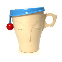 Sleepy Bournvita mug (Wooden donkey) Tags: cup plastic melamine