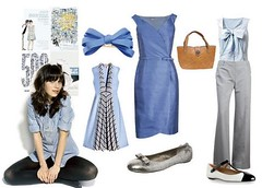 500 days of summer (lorryx3) Tags: blue summer inspiration movie dress days flats bow 500 zooey babyblue deschanel duckeggblue 500days 500daysofsummer zooeydeschanl