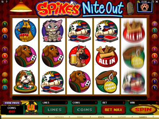 Spikes Nite Out slot game online review