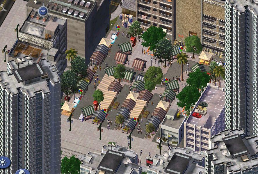 HDB Market and stalls