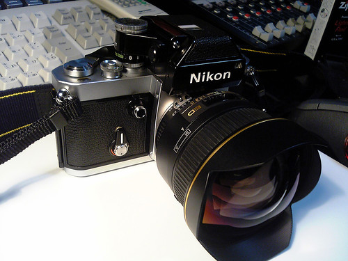 Nikon F2 Photomic with 14mm/F2.8D