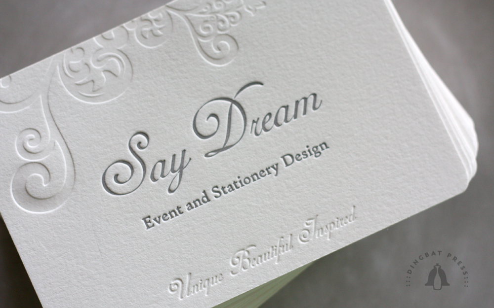 "Say Dream 4x6"" Note"