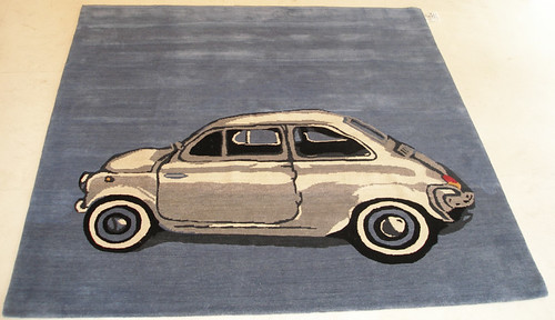 fiat 500 Tibetan Carpet, by Matthew Watkins
