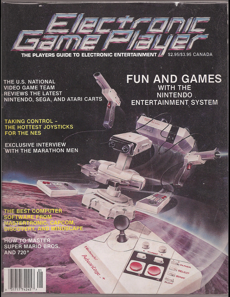 Electronic Game Player 1