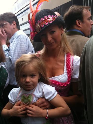 Munich-Paris mit Tochter