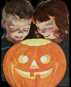 HALLOWEEN KIDS AND PUMPKIN (2)