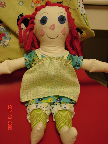 doll for Charlotte
