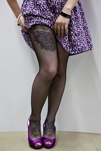tattooed pin up models. Tea, Pin-Up Model (02)