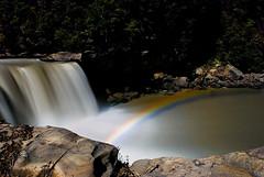 Moonbow (JGo9) Tags: longexposure trees moon water rock waterfall rainbow nikon kentucky ky falls bow moonlight cumberlandfalls moonbow d60 whitley whitleycounty