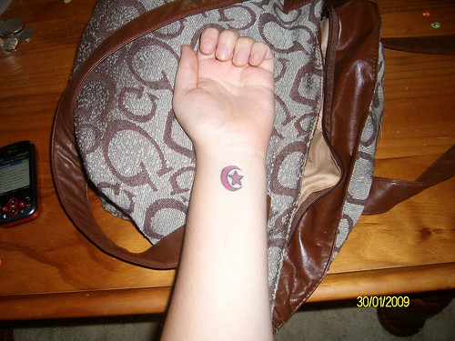 My wrist tattoo My first