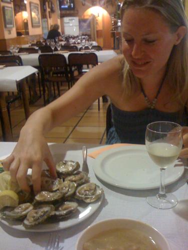 Oysters, Vigo