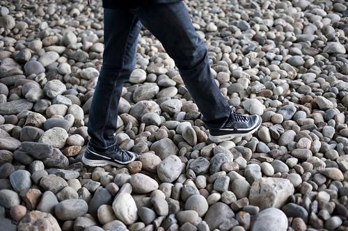 Gå på stein