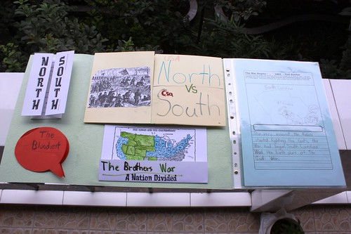 civil war lapbook inside