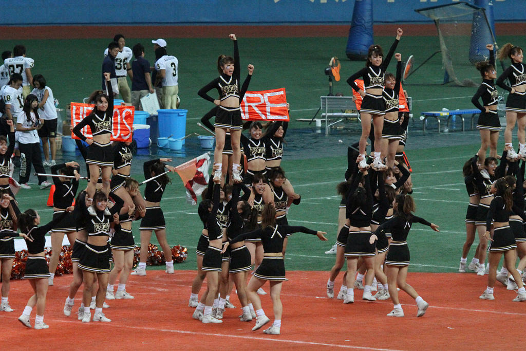 test shot of ISO 6400 by EOS 7D at Kyocera Dome