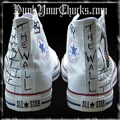 Pink Floyd The Wall Hand Painted Custom Converse Chuck Taylors (punkyourchucks) Tags: music art sports fashion pinkfloyd sneakers converse hollywood handpainted vans celebrities hiphop rocknroll thewall chucktaylors customvans handpaintedvans customkicks customsneakers customfashion weddingchucks nikeaf1 handpaintedsneakers purpleconverse celebrityartist punkyourchuckscustoms customhitops customlowtops akamag punkyourchuckscustomsneakers magseries