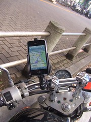 Motorcycle mount for iphone