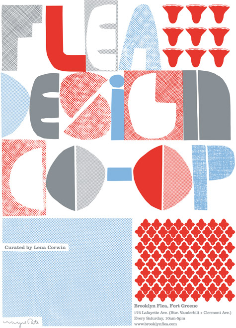 Flea Design Co-Op Poster Final