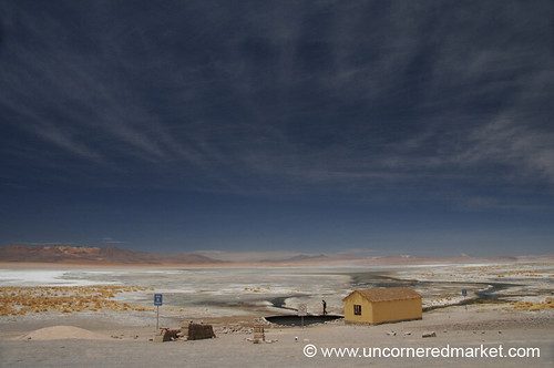 Photo from the Bolivian Salt Flats
