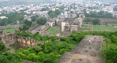 bird eye view (Ajay ^^) Tags: family hyderabad golconda