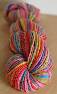 'pinkbow' 3ply merino