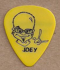 12/31/05 Warrant @ Andover, MN (Joey Allen Guitar Pick Reverse)