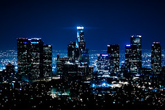 Angelic City (Emmanuel_D.Photography) Tags: california from park city night canon lights la losangeles los cool long downtown cityscape angeles awesome front explore observatory 200 page griffith 90210 70 fp frontpage 70200 f4 emmanuel astig calofornia f4l canonl explosure 50d dasalla emmanueldasalla