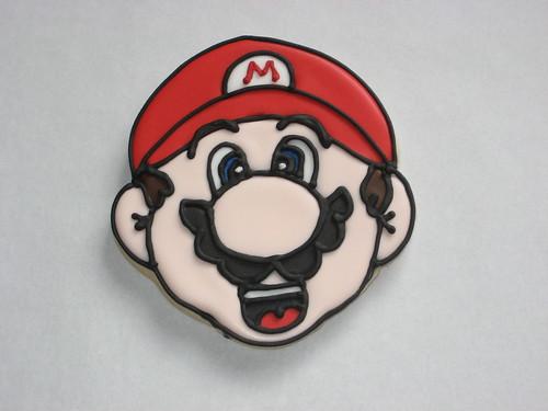 Mario Bros Cookie