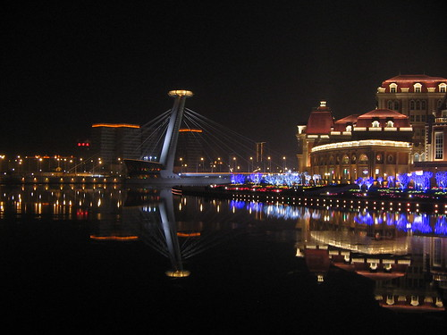 Tianjin at Night, South