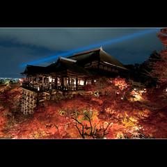 (whc7294) Tags: temple kyoto     kiyomizudera unescoworldheritage    superhearts artistsoftheyear platinumheartaward nikond300 1424mmf28  piatiumheartawardhalloffame 10mosaichalloffame 10goldsuperhearts 10goldheartsearned