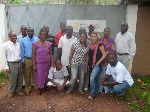 Equipo de ISF ApD en Kigoma (Tanzania)