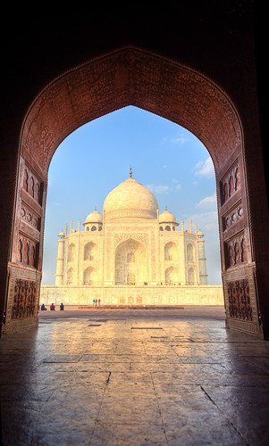 Taj Mahal from the jawab