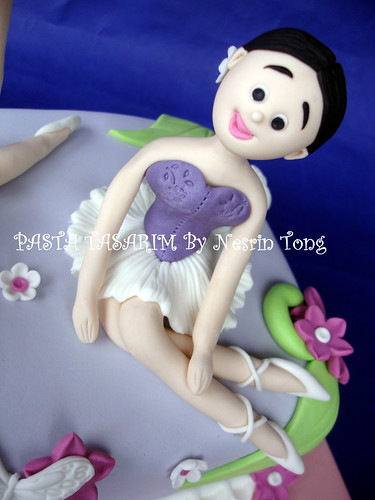 BALLERINA CAKE 2