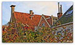 Groningen Roofs,stad,the Netherlands,Europe (Aheroy(2Busy)) Tags: city roof holland art netherlands dutch architecture photomanipulation fun town europe colours different arts nederland surreal hallucination groningen picnik stad beautifull dak aheroy aheroyal