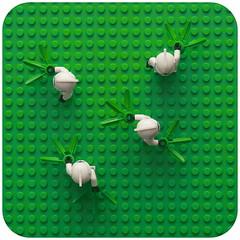 Day 122 (pasukaru76) Tags: flowers green starwars lego meadow sigma105mm projectclone365