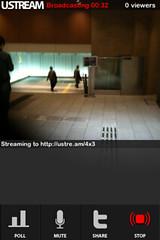 Ustream Live Broadcaster