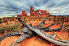 Turret Arch (James Neeley) Tags: landscape utah archesnationalpark hdr turretarch 5xp jamesneeley flickr15 mountainhighworkshops windowsdistrict