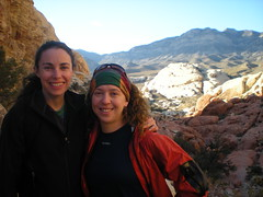 Rachel & Clare Calico Basin, Red Rocks