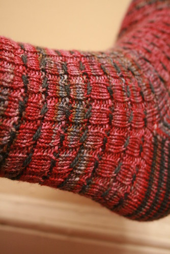 Ann Weaver Test Sock