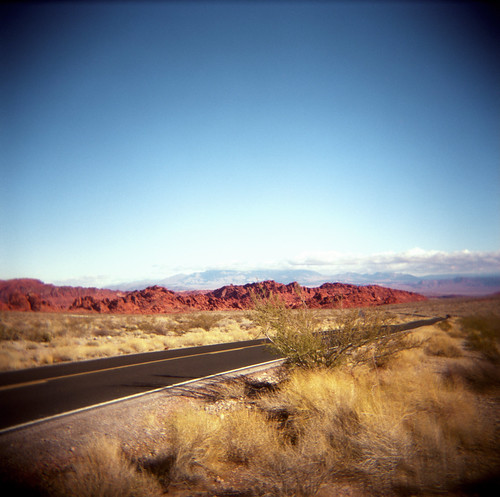 entering the Valley of Fire